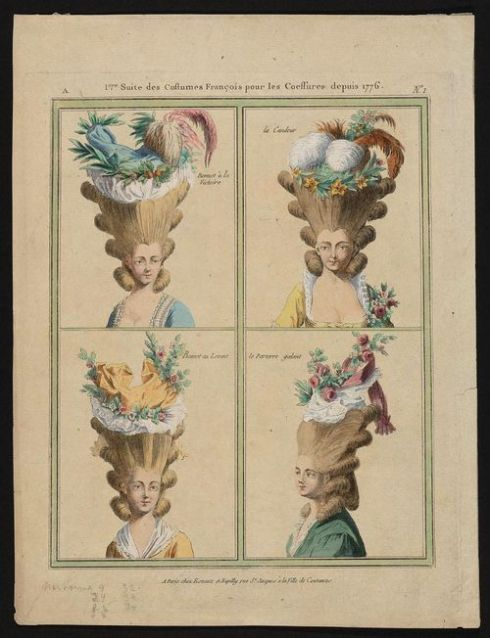 1776. Row 1-Bonnet à la Victoire, la Candeur