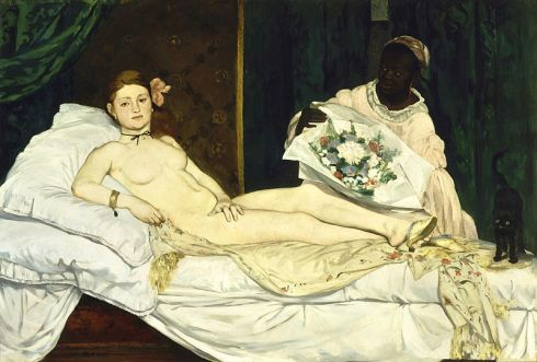 1863. Olympia - Manet