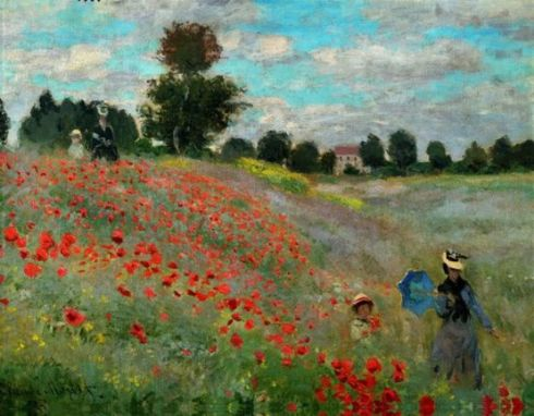 1873. Claude Monet - Poppies 2