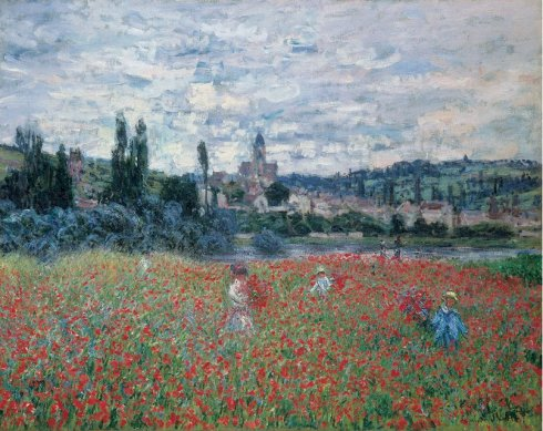 1879. Poppy Field near Vétheuil - Claude Monet