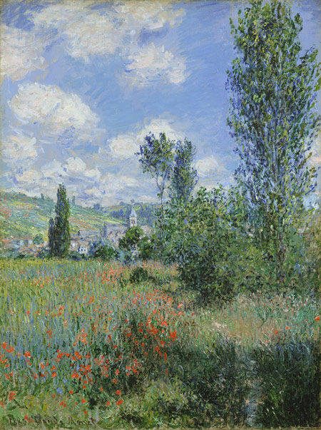 1880. Claude Monet - View of Vétheuil