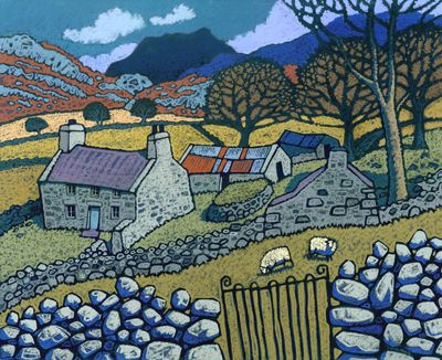 Welsh Artists Byron S Muse