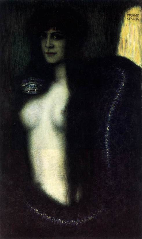 1903. The Sin (Die Sünde) - Franz Stuck