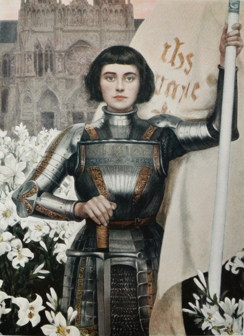 1903. Albert Lynch (1851 - 1912), Jeanne d'Arc