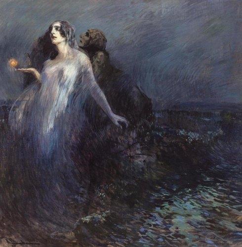 1910. Cipriano Mannucci - Verso la luce