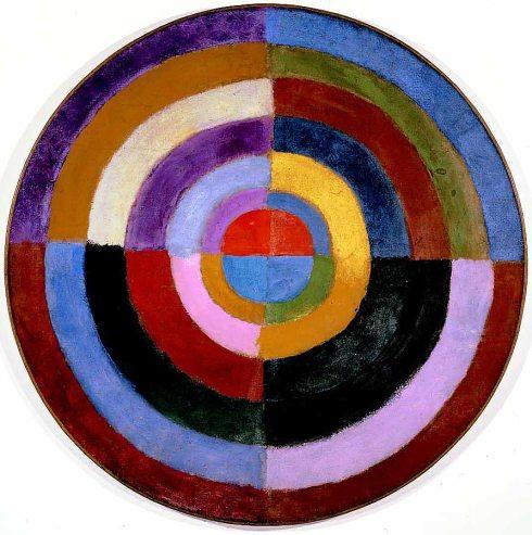 1912-13. Robert Delaunay - Le Premier Disque