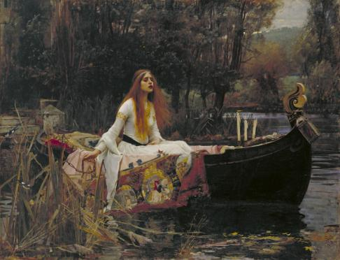 The Lady of Shalott 1888 John William Waterhouse 1849-1917 Presented by Sir Henry Tate 1894 http://www.tate.org.uk/art/work/N01543